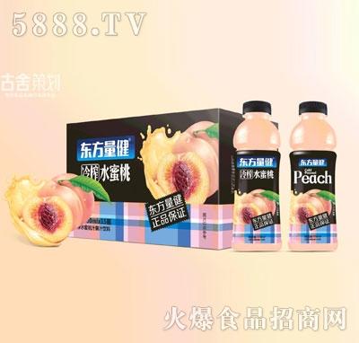 东方量健冷榨水蜜桃果汁饮料