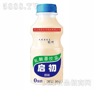 农夫果园启初原味乳酸菌340ml