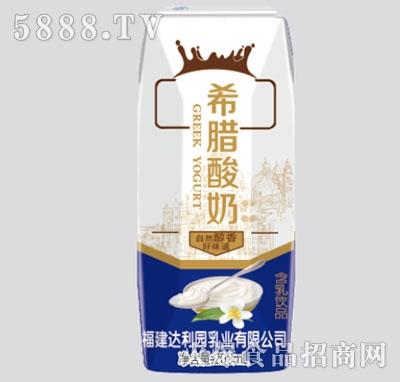 希腊酸奶风味发酵乳200ml钻石包