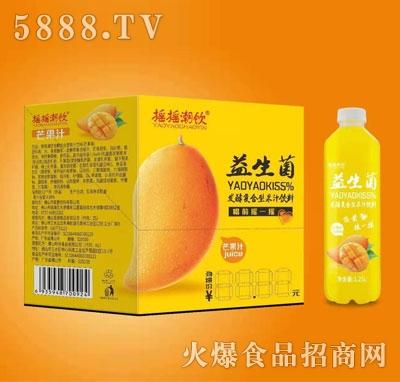 摇摇潮饮益生菌发酵果汁芒果味