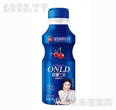 欧娜兰朵乳酸菌饮品草莓味338ml