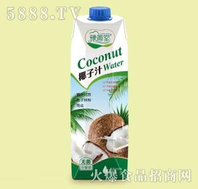 豫善堂椰子汁1L