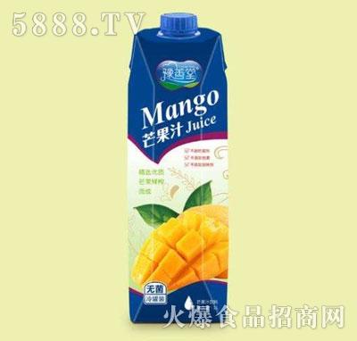 豫善堂芒果汁1L
