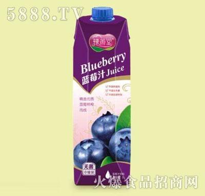 豫善堂蓝莓汁1L