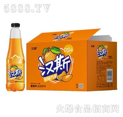 汉斯橙味汽水500mlx15