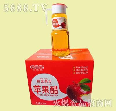 豫善堂苹果醋饮料1.5LX6瓶产品图