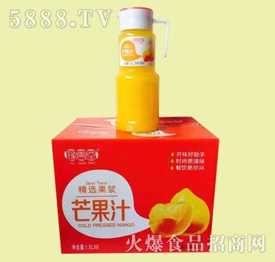 豫善堂芒果汁饮料1.5LX6瓶