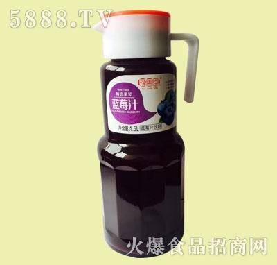 豫善堂蓝莓汁饮料1.5L
