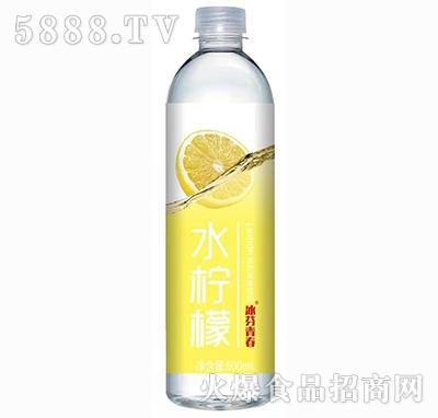 冰芬青春水柠檬苏打果味饮料500ml