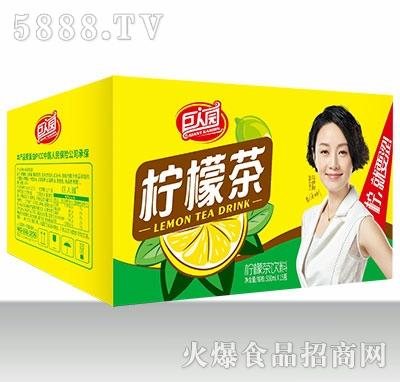 巨人园柠檬茶500mlx15
