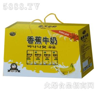 九里源香蕉牛奶250mlx10盒