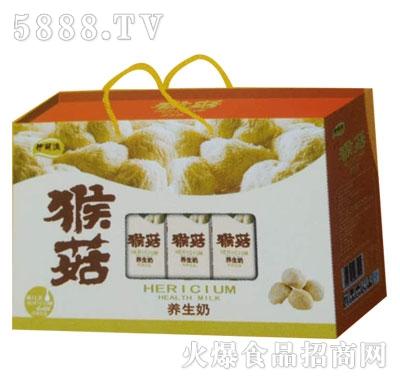 九里源猴菇养生奶250mlx10盒