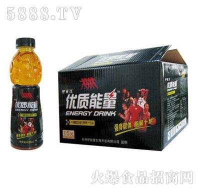 伊丽澳优质能量牛磺酸维生素饮料600mlx15瓶