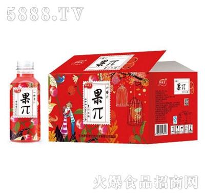 九里源山楂汁果π500mlx15瓶
