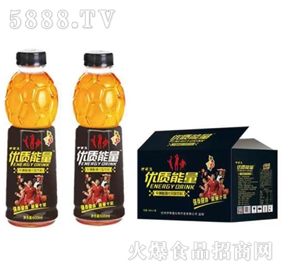伊丽澳优质能量牛磺酸强化果味饮料600mlx15瓶