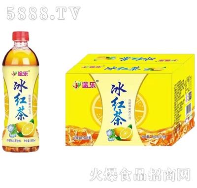 途乐冰红茶饮料500mlx15瓶