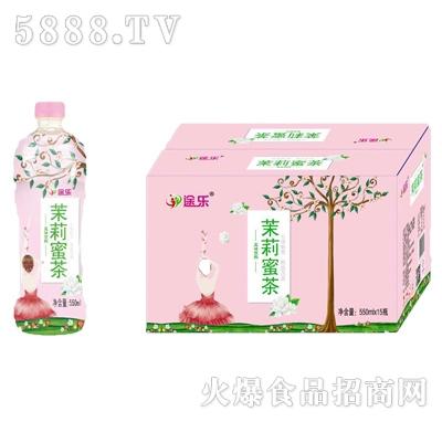 途乐茉莉蜜茶风味饮料550mlx15瓶