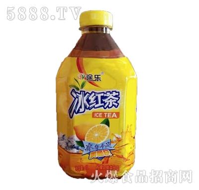 途乐冰红茶柠檬味茶饮料1L