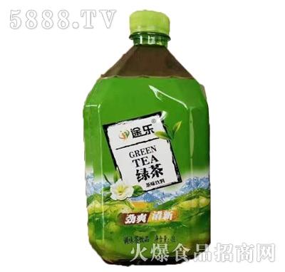 途乐绿茶风味饮料1L