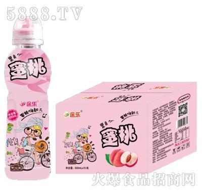 途乐蜜桃果汁500mlx15瓶