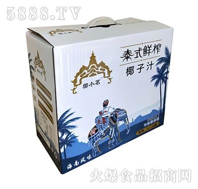 椰小茗泰式鲜榨椰子汁1Lx6盒手提把装产品图