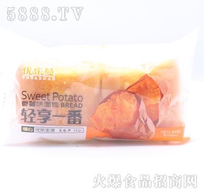 优乐曼轻享一番番薯味面包产品图