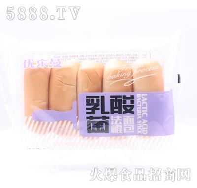优乐曼乳酸菌法棍面包产品图