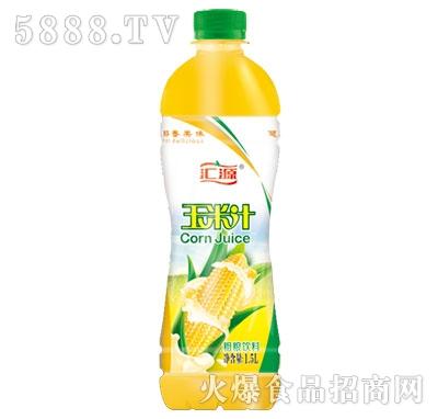全自然汇源玉米汁1.5L