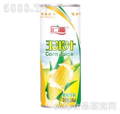 全自然汇源玉米汁240ml