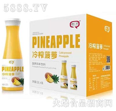 慧仁堂冷榨菠萝汁饮料1.25Lx6瓶