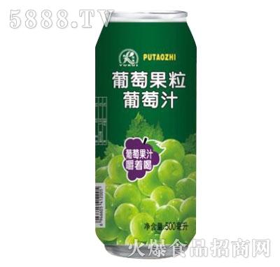 新雨瑞葡萄果粒葡萄汁500ml