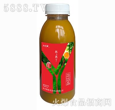 轻欢桃熟了桃复合果汁饮料330ml