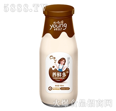 养鲜多发酵酸奶碳烧味1000ml