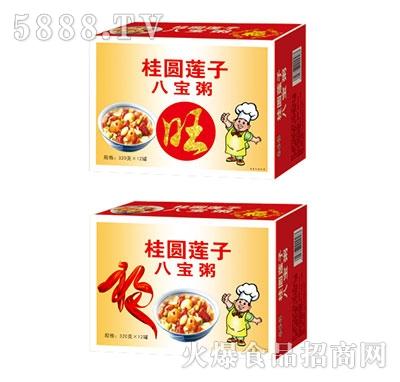 齐乐福桂圆莲子八宝粥箱