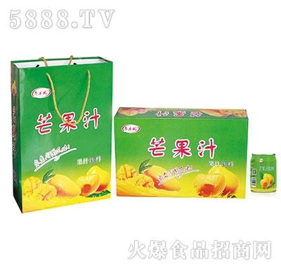 齐乐福芒果汁