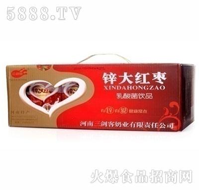 三剑客锌大红枣乳酸菌饮品