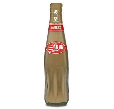 三味佳奶茶回收瓶236ML