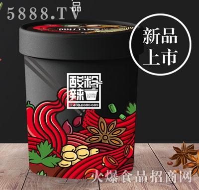 谈小爱酸辣粉(桶)产品图