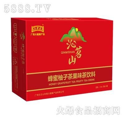 王老吉沁茗山蜂蜜柚子茶果味茶饮料310mlx24瓶产品图