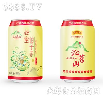 王老吉沁茗山蜂蜜柚子茶果味茶饮料310ml产品图