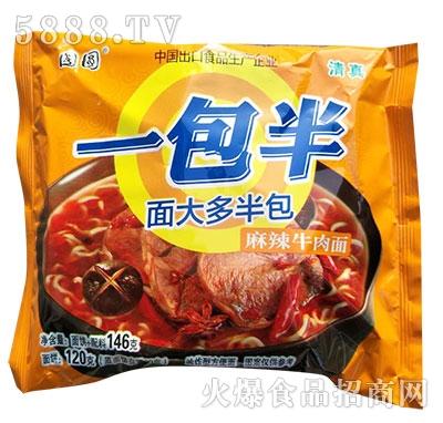 国圆一包半麻辣牛肉面146g