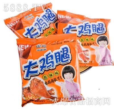 国圆大鸡翅干吃面香辣味45g