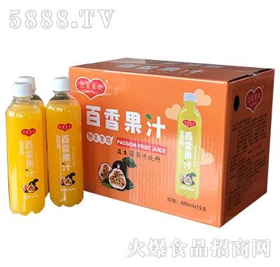 恋爱果实益生菌百香果汁饮料480mlx15瓶