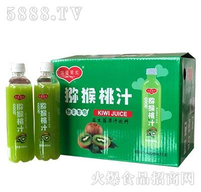 恋爱果实益生菌猕猴桃汁饮料480mlx15瓶