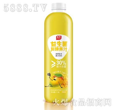 泰爷益生菌发酵果汁芒果味1.18L