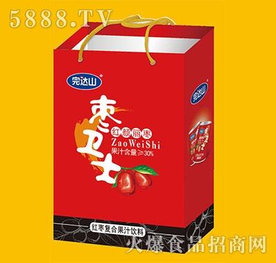 完达山枣卫士红枣复合果汁饮料