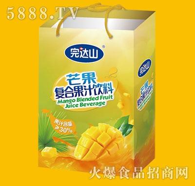 完达山芒果果汁饮料