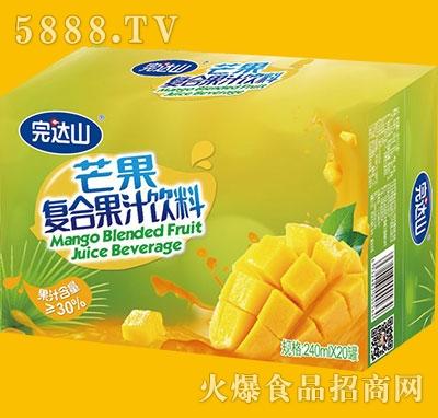 完达山芒果果汁饮料240mlx20罐