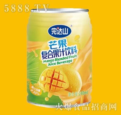 完达山芒果果汁饮料240ml