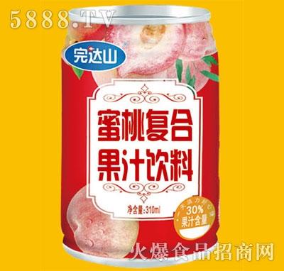 完达山蜜桃果汁饮料330ml